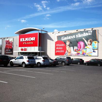 Elkor Plaza Videonovērošanas un Preču aizsardzības sistēmu izbūve